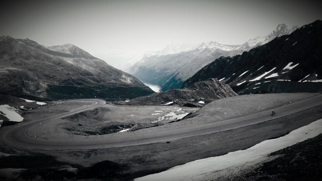 Klimmen in de Alpen